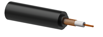 Reference Microphone Cable 0.22mm² Black - 100m